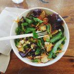 レタスの人気で簡単なサラダのレシピ!ごま油やのりを使って絶品に!